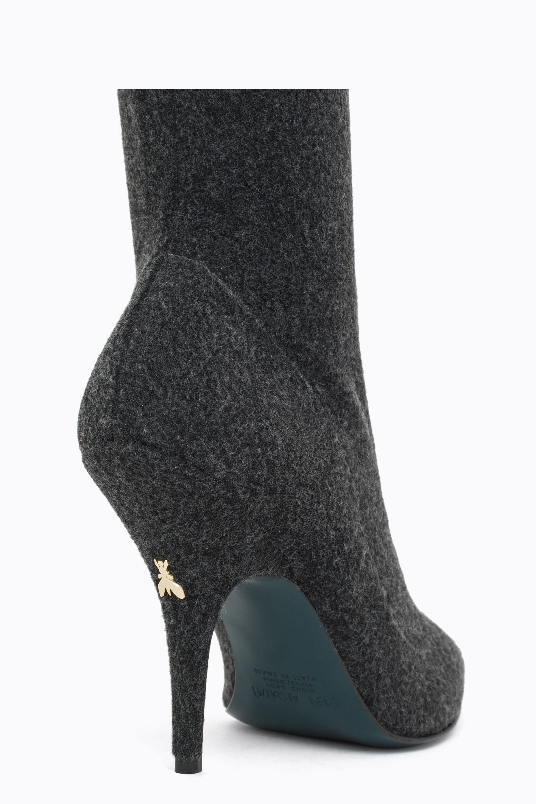 Stretch fabric boot