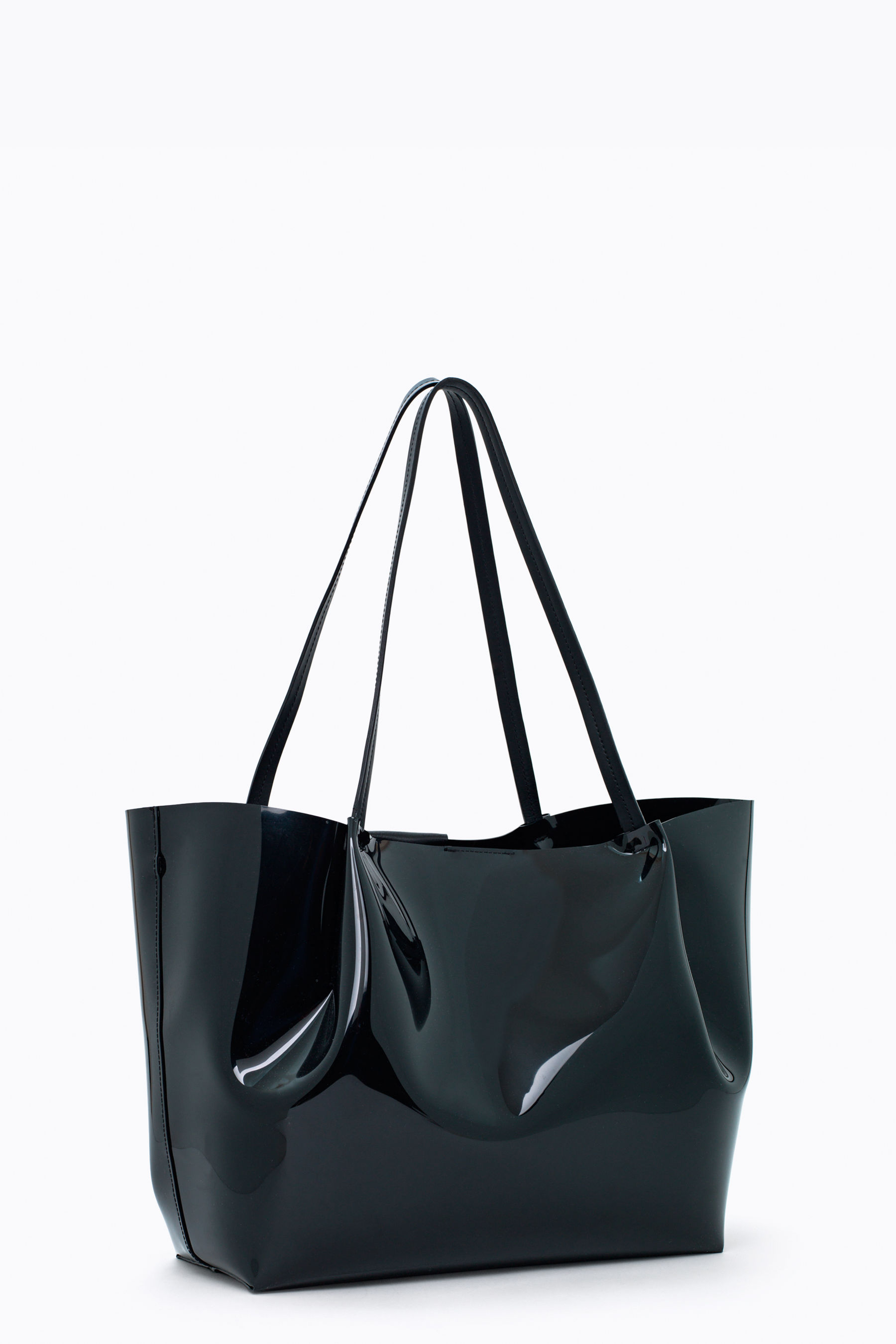 Borsa shopping grande in pvc