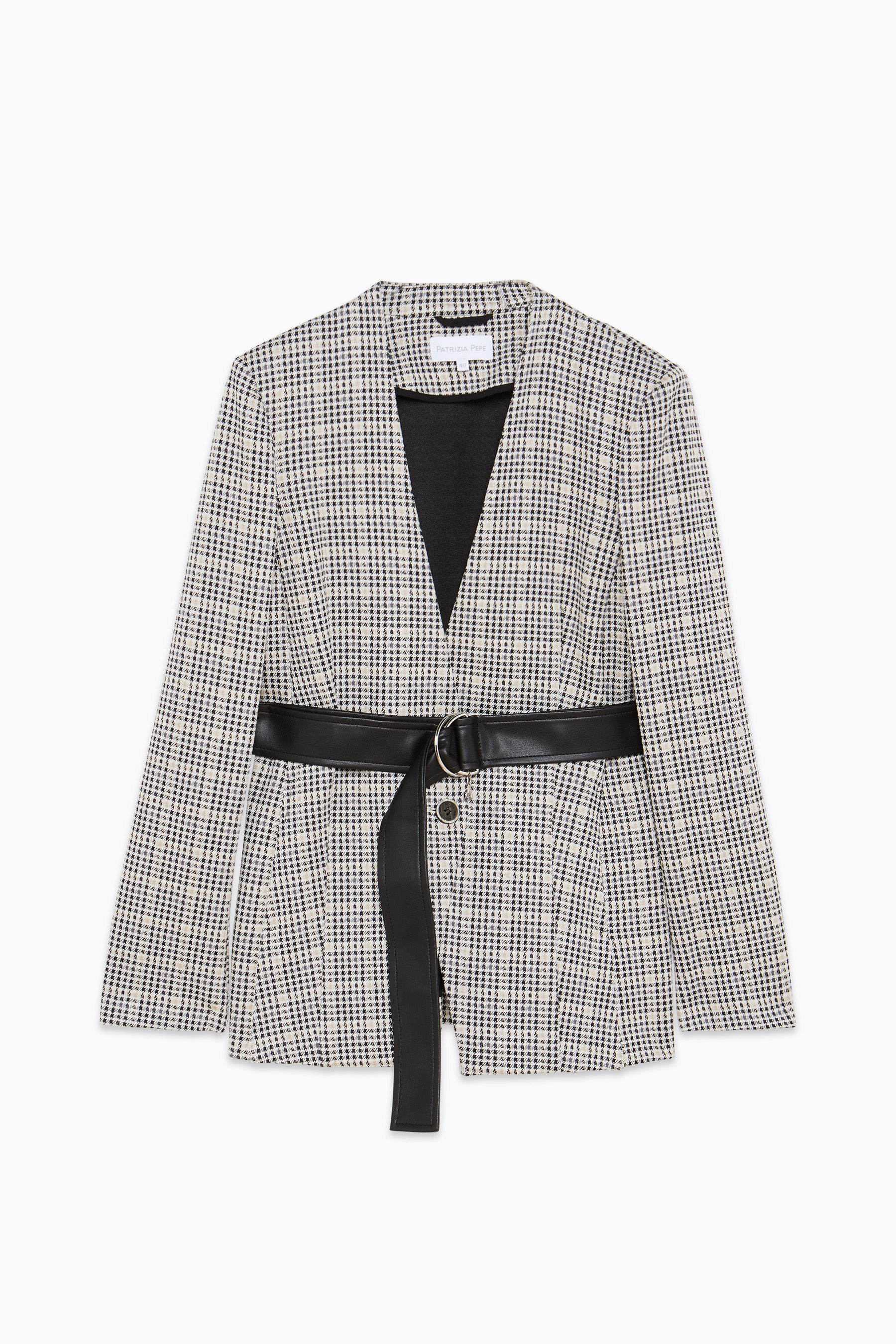 """Houndstooth"" jacket"