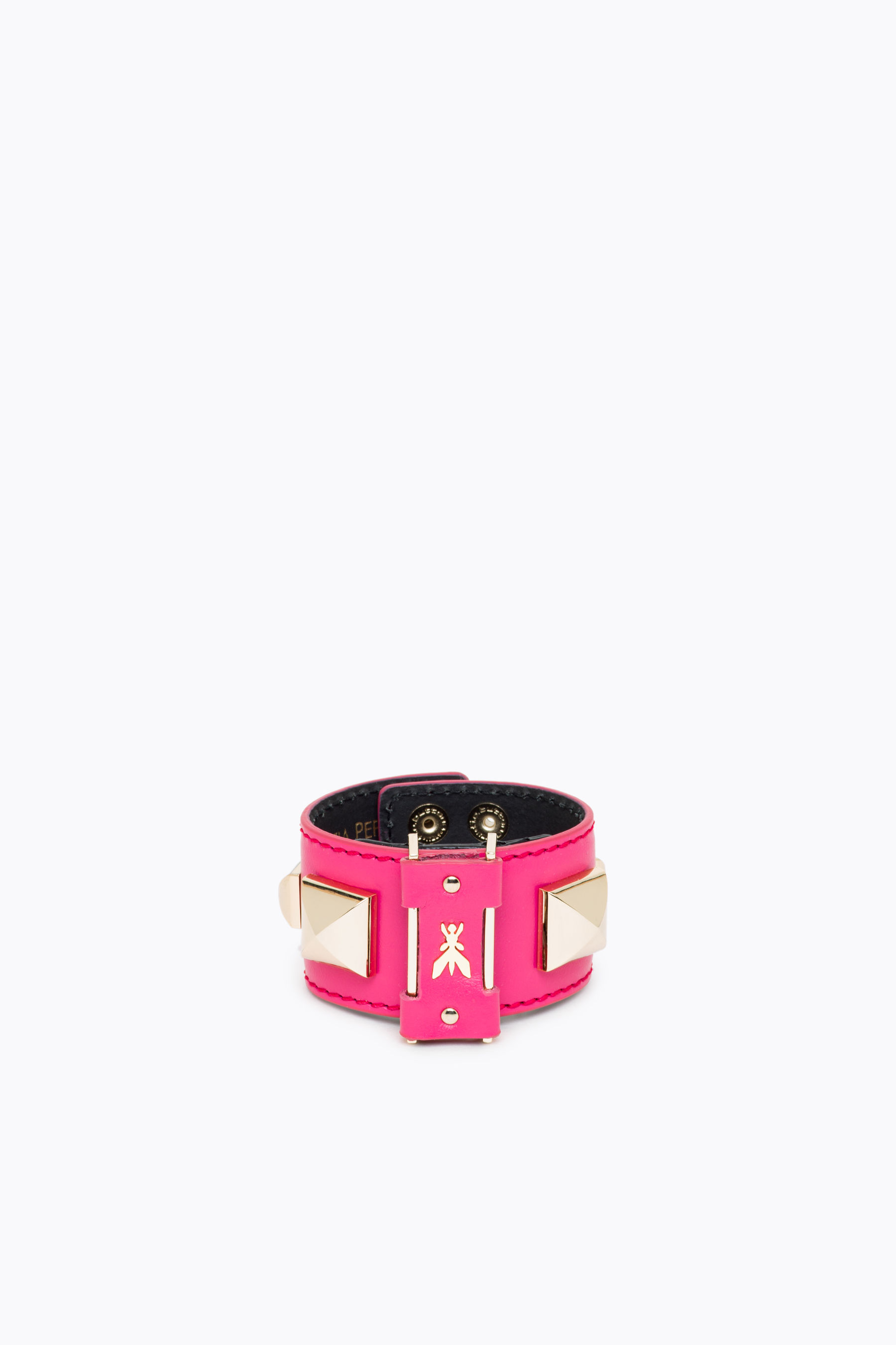 Piping leather Bracelet